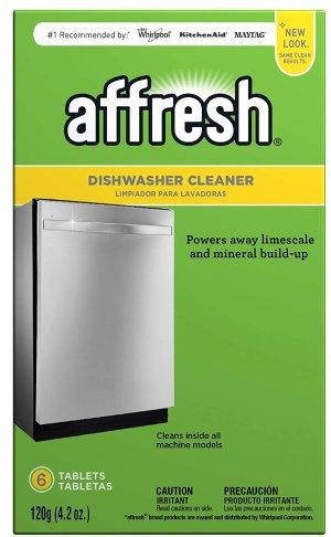 $3.52史低价:Affresh W10549851 洗碗机清洁片 6片