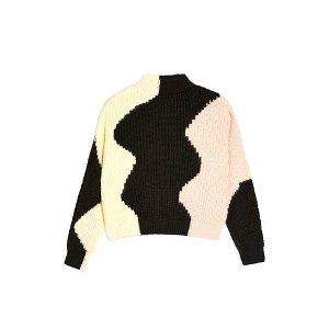 Marc Jacobs拼色毛衣