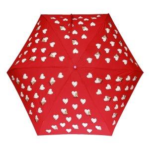 Moschino情人节铺满爱心小熊伞