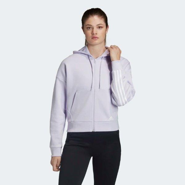 卫衣 淡紫色