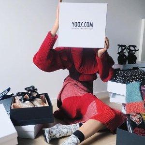 低至5折+ 额外9折 无门槛免邮YOOX 潮流服饰包鞋履促销 收Prada鞋