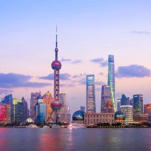 洛杉矶--上海往返机票低价 2月-5月日期