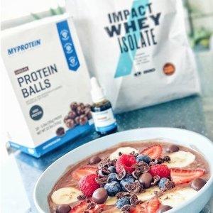 6.5折 巧克力、草莓口味额外9折Myprotein官网 热销款蛋白粉、肌酸、维生素等促销