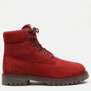 Timberland小红靴 大童款