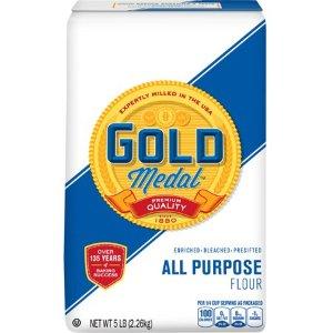 Gold Medal Flour All-Purpose, 5 lb - Walmart.com