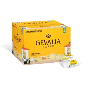 $27.06Gevalia 哥伦比亚咖啡 K-CUP胶囊 100个装