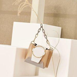 满额8.5折 £284起几何造型小盒子包Yuzefi 当红小众美包热卖 19年新款上线