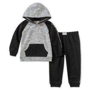 9b69569aa422 Calvin KleinBaby Boys 2-Pc Hoodie   Jogger Pants Set.  21.00  50.00. Calvin  Klein Baby ...