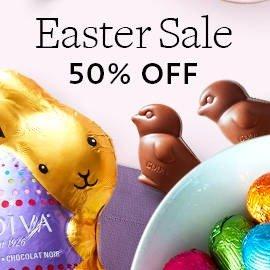 50% offEaster Sale @ Godiva