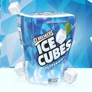 $9.48 一颗仅$0.05Ice Breakers 超清凉薄荷糖 4杯 共160颗