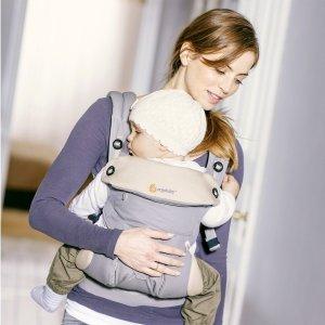 prime到手 ¥668Ergobaby 四式360婴儿背带 灰色 适合4个月-3岁