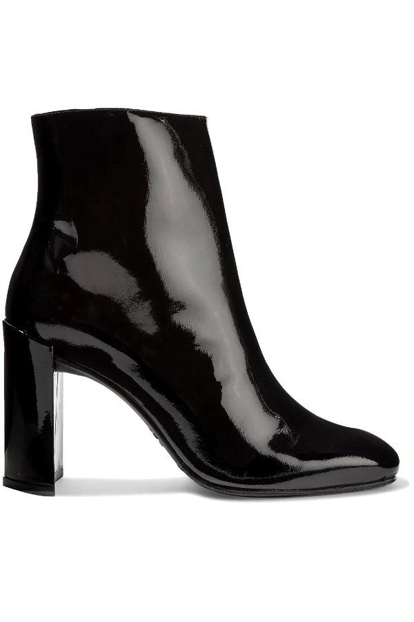 Patent-leather 高跟靴