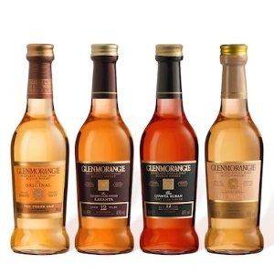 Glenmorangie以实际页面价格为准单一麦芽威士忌鉴赏装 共4瓶