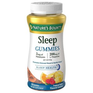Nature's BountyNature's Bounty Sleep Complex 3 mg Melatonin/200 mg Gummies Punch