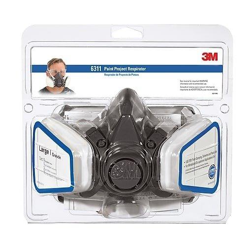 防护呼吸面罩 带过滤器 大码