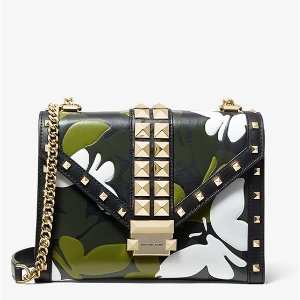 7f80ca83ad9a Michael Kors offers new arrivals 2019 Spring Collection. Free shipping.  Michael KorsWhitney Large Butterfly Camo Convertible Shoulder Bag