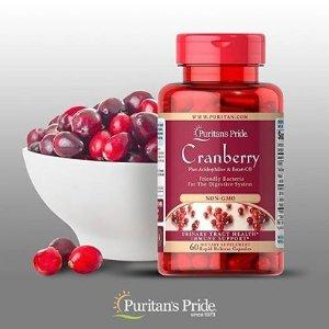买2送3 + 额外8.5折Puritan's Pride 精选女性保健品 收蔓越莓、虾青素