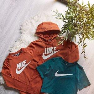额外7.5折+包邮 $19起即将截止:Nike官网 运动卫衣帽衫折上折, 超多新款加入