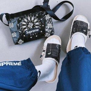 折扣区5折起 正价8折Nike 超酷拖鞋、凉鞋折扣专场 夏日必备踩水又凉快