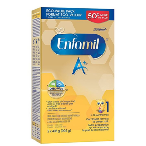 $40.82包邮(原价$47.99)Enfamil A+ 婴儿配方奶粉992g