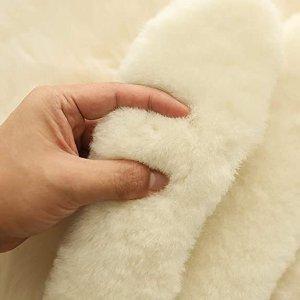 $12.99起 男女同款AINIESS 澳大利亚纯羊皮毛一体鞋垫 送人温暖、贴心好礼