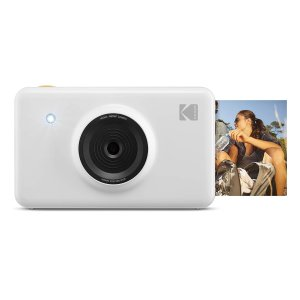 KODAK KOD-MSW Mini Shot Wireless Instant Digital Camera & Social Media Portable Photo Printer