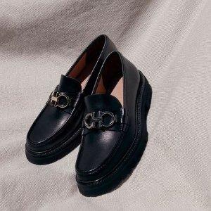 5折起+全部7折 £299收封面乐福菲拉格慕 全场闪促 收logo腰带、平底芭蕾鞋等