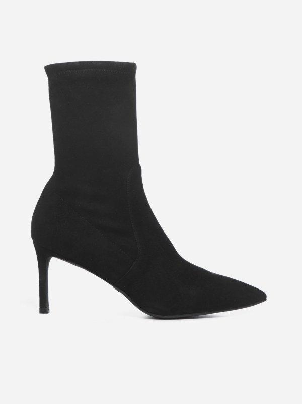 Wren 75 麂皮细跟高跟鞋