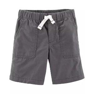 Carter's小童提拉布面短裤