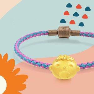 定价9折+工费6折 收钻石小红绳周生生官网 精选黄金首饰、串珠限时促销