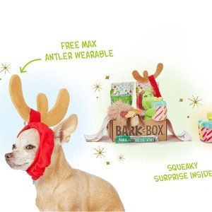 Free Extra Toy Each MonthWith the Purchase of a 3 Month Order @ Barkbox