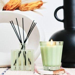 无门槛7.5折 + 送美妆礼包NEST 香氛热卖 收西柚室内扩香、淡雅竹香、香氛蜡烛