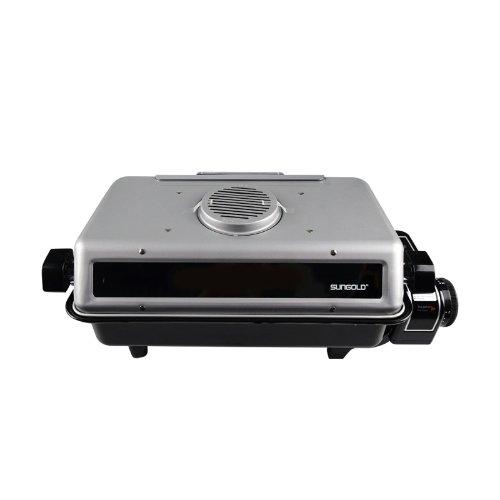 烧烤神器 SUNGOLD多功能电烧烤机(众测)