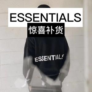 €45收logoT恤Essentials 2021冬季新款开售 拼手速时间到啦