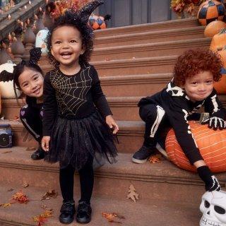 额外7折H&M 儿童万圣节装扮服饰特卖 一起带宝宝装神弄鬼