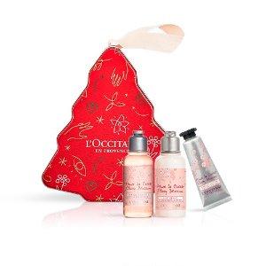 L'Occitane樱花护理圣诞树礼盒