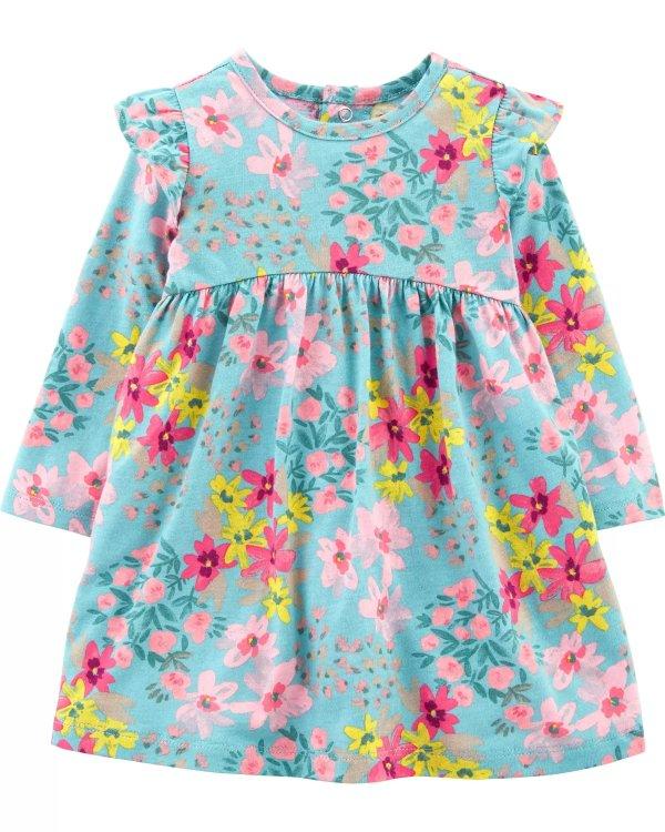婴儿碎花连衣裙