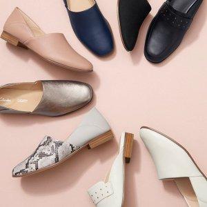 低至5折 €49收胡歌同款三瓣鞋Clarks官网 夏季大促再降价 经典英伦风 好穿舒适 多款参与折扣
