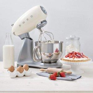 9折起 面包机史低£129SMEG 意大利顶级厨具 收网红吐司机、厨师机、咖啡机