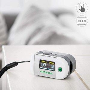 折后€29 几秒出结果Medisana PM 100 血氧仪热促 疫情期间 家中必备