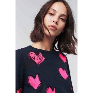 Victoria Beckham爱心毛衣