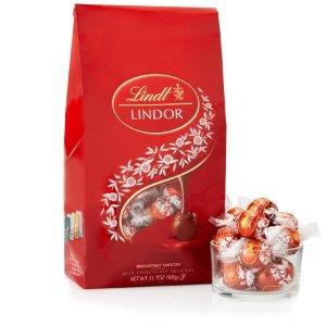 Lindt买2只需$40 松露牛奶巧克力礼包75颗装