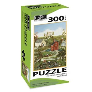 Village On The Bay 300 Piece Puzzle