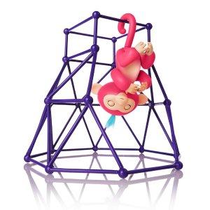 $11Fingerlings Jungle Gym Playset + Interactive Baby Monkey Aimee