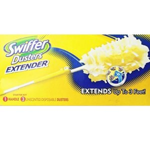 $12Swiffer 360 Dusters Extender Kit, Extends up to three feet
