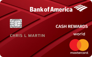 $150 online cash rewards bonus offerBank of America® Cash Rewards credit card