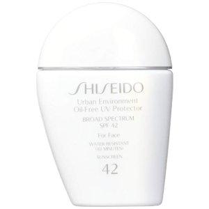 23aa0e903 ShiseidoUrban Environment Oil-free UV Protector SPF 42 Broad Spectrum for  Face, 1 Ounce