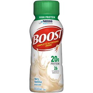 $13.62Boost High Protein Complete Nutritional Drink, 8 fl oz Bottle, 24 Pack @ Amazon