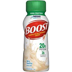 $13.62 销量冠军Nestle 多种口味高蛋白营养饮料 8oz 24瓶装