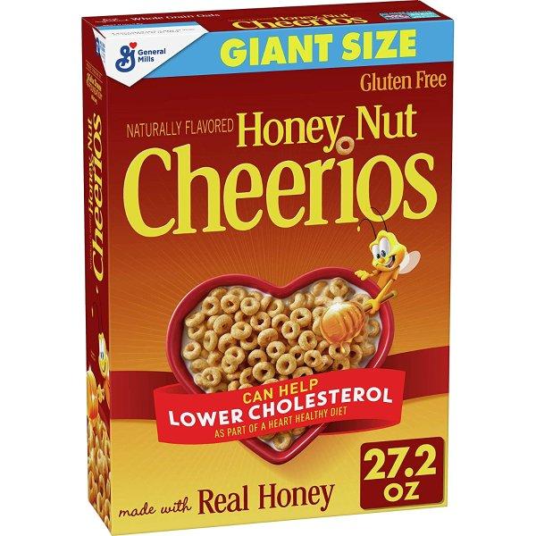 蜂蜜早餐即食麦片 27.2oz特惠装